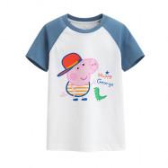image of Lativ : Peppa Pig印花T恤-05-童