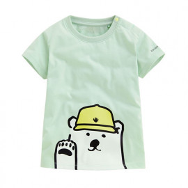 image of Lativ : Polar Bear Benjamin印花T恤-06-Baby