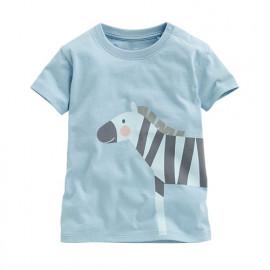 image of Lativ : 斑馬印花T恤-Baby