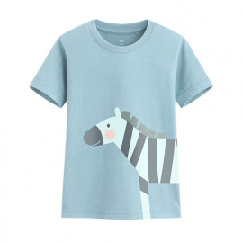 image of Lativ : 斑馬印花T恤-童