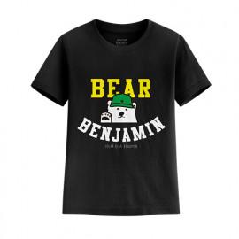 image of Lativ : Polar Bear Benjamin印花T恤-01-童