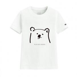 image of Lativ : Polar Bear Benjamin印花T恤-02-童
