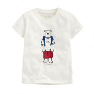 image of Lativ : Polar Bear Benjamin印花T恤-09-Baby
