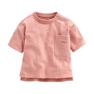 image of Lativ : 竹節棉口袋寬鬆上衣-Baby