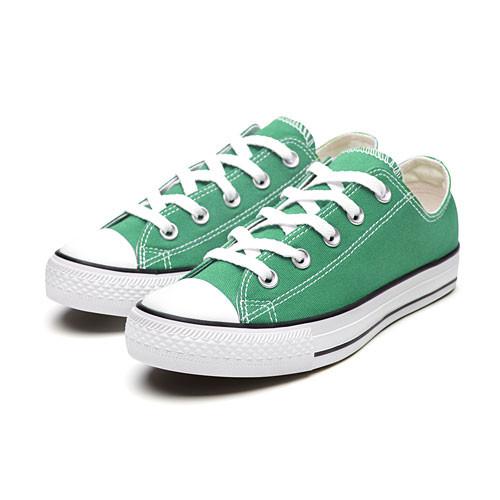 image of Lativ:棉質經典帆布休閒鞋-女( 綠色)