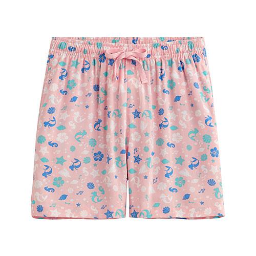 Lativ :迪士尼系列輕便短褲-女( 粉色)