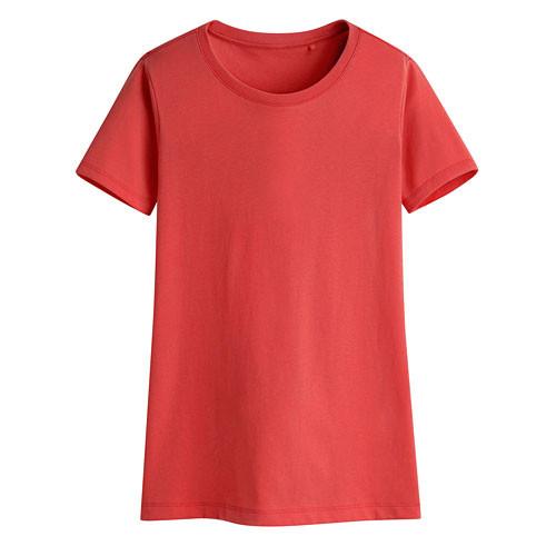 Lativ: 快乾棉圓領T恤-女( 紅色)