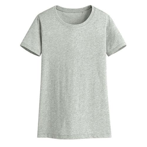 Lativ: 快乾棉圓領T恤-女( 麻灰)