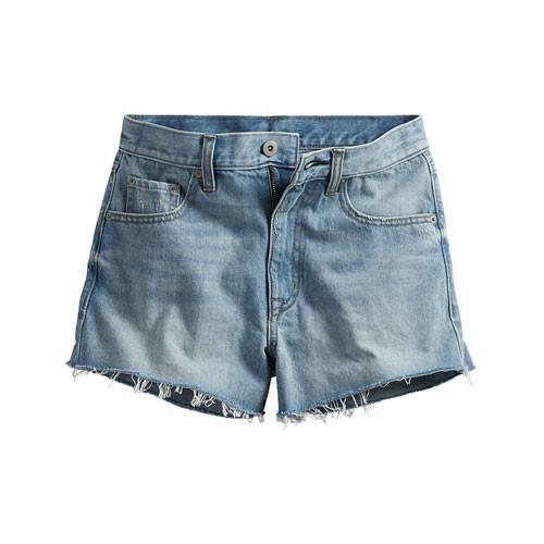 image of Lativ:牛仔短褲-女( 淺藍)