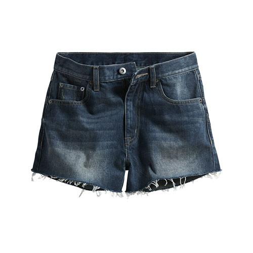 image of Lativ:牛仔短褲-女( 藍色)