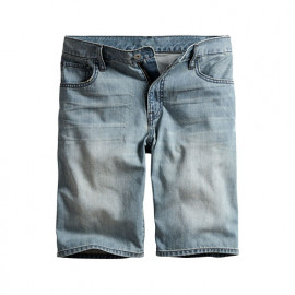 image of Lativ :牛仔短褲-男( 淺藍)