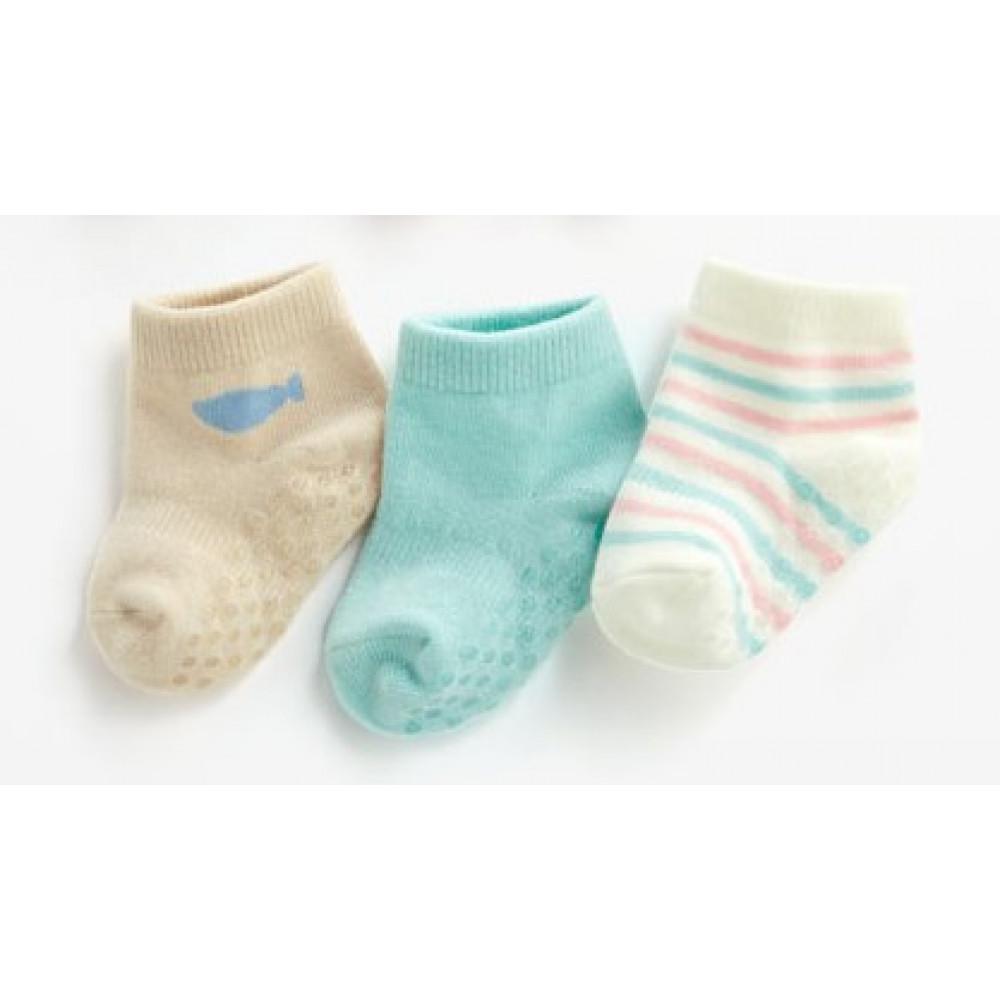 Lativ : 組合踝襪(3入-S)-Baby