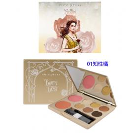 image of 泰國 Cute Press~美女與野獸8色眼影頰彩盤