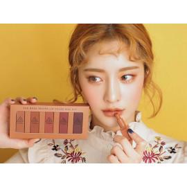 image of 韓國3CE(3CONCEPT EYES)~MOOD RECIPE土色系列唇膏(mini組合)5支入  LILY MAYMAC聯名