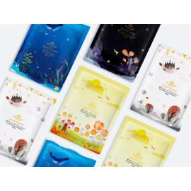 image of 韓國 Jewel Crown~星空面膜(10片入) 藍色海藻/花海舒緩/黑色星空/璀璨提亮 4款可選   Pony大推