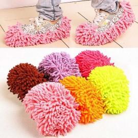 image of Multi function Sweep floor Slippers Mop Cap Clean Shoe