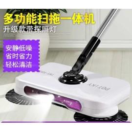 image of Household Hand Sweeping Machine Broom Floor Dust Sweeper Vacuum Cleaner Mop Room
