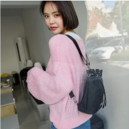 image of COVERME 3 WAY NYLON BUCKET BAG