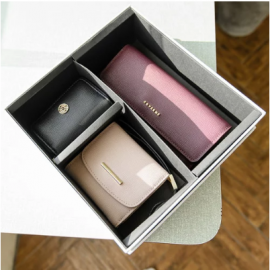 image of COVERME CLASSIC THREE-PIECE WALLET GIFT BOX