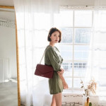 COVERME :  METICULOUS LEATHER FRONT FLAP SHOULDER BAG