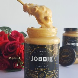 image of Jobbie Chunky Regular Peanut Butter 380grams