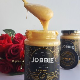 image of Jobbie Creamy Regular Peanut Butter 380grams