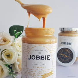 image of Jobbie Creamy Pure Peanut Butter 380grams