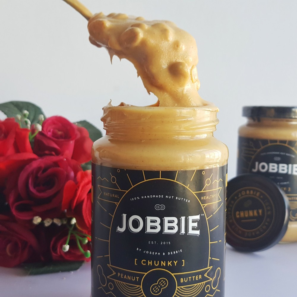 [BUY5FREE1] Jobbie Regular Chunky Peanut Butter 380grams
