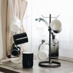Mug Stand - Rack Coffee Tea Storage Hanger Cup Organizer Holder with 6 Hooks