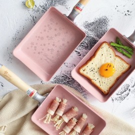 image of Japanese Cherry Blossom Pot With Frying Pan