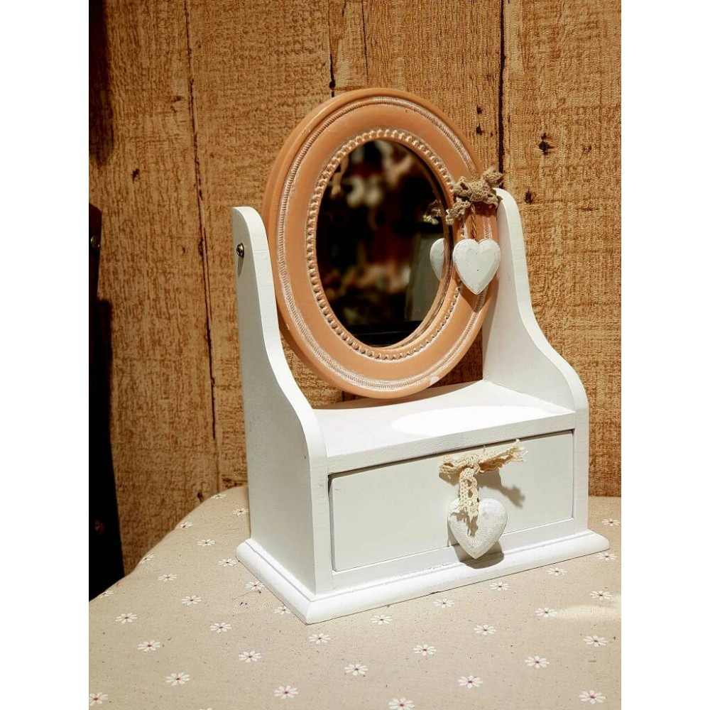 Zakka Living Classic Jewelry Box with Mirror