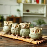 Zakka Living Home Decor Mini Owl Set