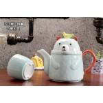 Zakka Living Cute Bear Bear Teapot Set