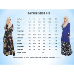 Kurung Moden Adiva Korean Lycra Nursing Friendly Less Iron Muslimah Wear