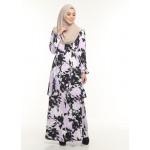 Kurung Moden Adiva Korean Lycra Nursing Friendly Less Iron Muslimah Wear