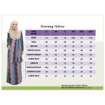 Baju Kurung Moden Adiva Korean Lycra Muslimah Wear Zip Depan