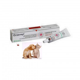 image of Vetoquinol® Oridermyl® Ointment 10g / Anti Fungus, Ani Bacterial & Ear Mites
