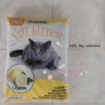 Premium Cat Litter With Baking Soda 10 L X 3 Bags (Rose, Lemon, Lavender, Apple)