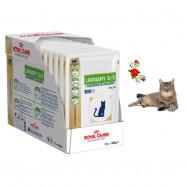 image of Royal Canin Urinary S/O Wet Food For Cat (Chicken) 12 X 100 G
