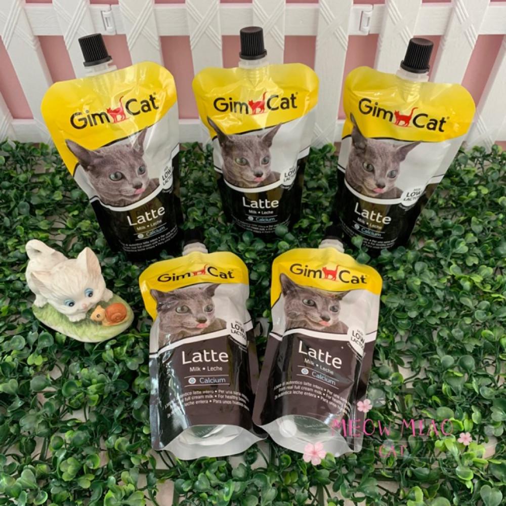GimCat Latte 200ml Milk Calcium For Cat / Per Bag