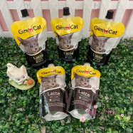 image of GimCat Latte 200ml Milk Calcium For Cat / Per Bag