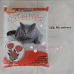 Premium Cat Litter With Baking Soda 10 L (Rose, Lemon, Lavender, Apple)