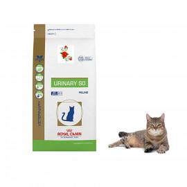 image of Royal Canin Veterinary Diet Urinary S/O Dry Cat Food 7 KG