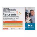 Panoramis For Large Dogs 18.1-27kg 6 Pack (Blue)