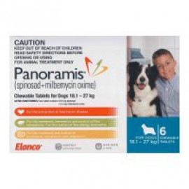 image of Panoramis For Large Dogs 18.1-27kg 6 Pack (Blue)