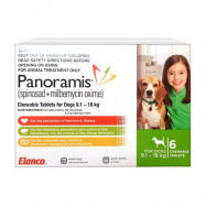 image of Panoramis For Medium Dogs 9.1-18kg 6 Pack (Green)
