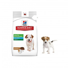 image of Hill's Puppy Healthy Development Small Bites Lamb Meal And Rice Recipe 15KG