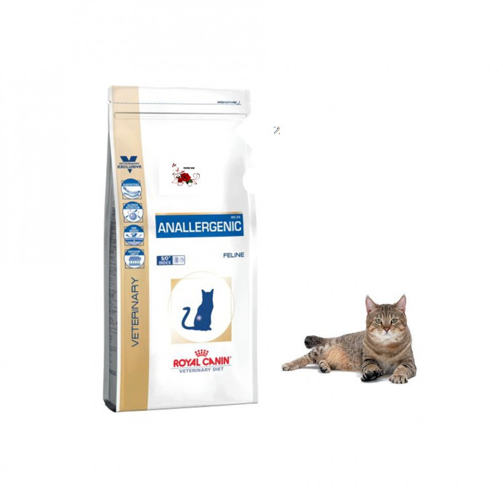 Royal Canin Veterinary Diet Anallergenic AN25 Dry Food For Cat 2 KG