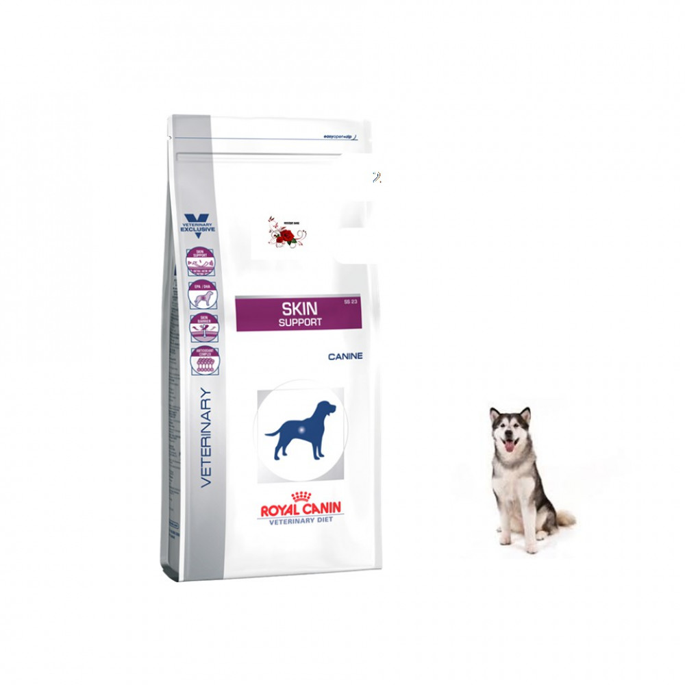 Royal Canin Veterinary Diet Skin Support Dry Dog Food 2 KG