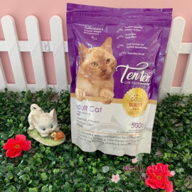 image of Ten Ten Cat Food 500g Premium Pack / Support Urinary System / Boosts Appetite